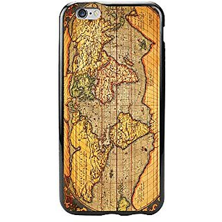 Cellet Proguard Case for iPhone 6 - Non-Retail Packaging - Vintage World Map/Clear