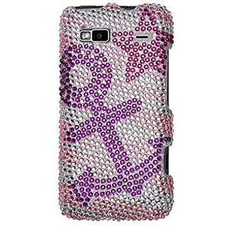 Mybat HTC G2HPCDM084NP Dazzling Diamante Bling Case for HTC G2 - Retail Packaging - Anchor Star