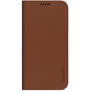 ARAREE Slim Diary Case for Galaxy S6 - Retail Packaging - Saddle Brown