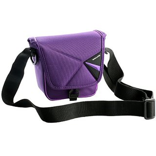 VANGUARD Pampas II 13PR Stylish Protector for Compact Mirrorless Interchangeable Lens Camera Setup (Purple)