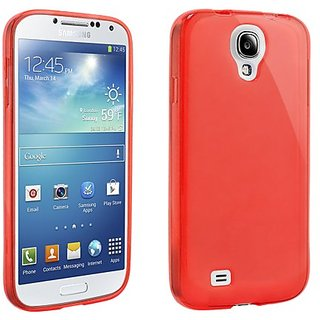 Beyond Cell Samsung Galaxy S4 TPU Frosted Protective Cover - Retail Packaging - Red
