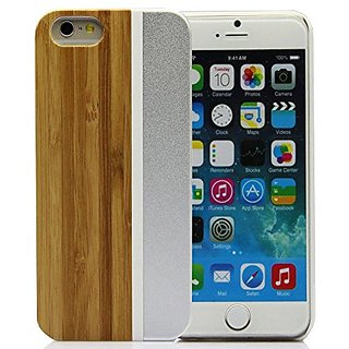Iphone 6s Case, YF-WOOD Iphone 6s Wood Case, Unique Iphone 6 Wooden Case with Luxury New Design Metal Frame Iphone 6s Pr