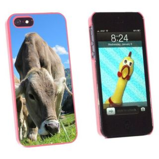 Graphics and More Grazing Cows Mountain Farm Snap-On Hard Protective Case for Apple iPhone 5/5s - Non-Retail Packaging