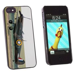 Graphics and More British World War II Supermarine Spitfire Fighter Snap-On Hard Protective Case for Apple iPhone 5/5s