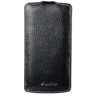 Melkco - Premium Leather Case for Google Nexus 5 - (Black) - LGNEX5LCJT1BKLC