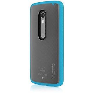 Incipio Octane Carrying Case for Motorola Droid MAXX 2/Motorola Moto X Play - Retail Packaging - Frost/Cyan