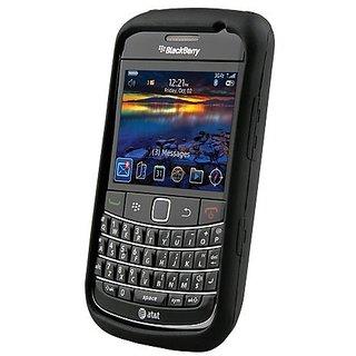 Silicone Cover - BlackBerry Bold II/2 9700 - Black
