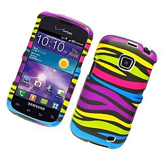 Eagle Cell PISAMI110R159 Stylish Hard Snap-On Protective Case for Samsung Illusion/Proclaim i110 - Retail Packaging - Ra