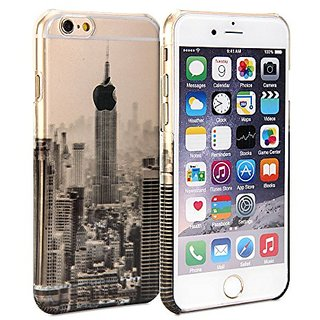 iPhone 6 Case, GMYLE Cover Case Print Crystal for iPhone 6 / 6s (4.7 inch Display) - Transparent New York Scenery Slim H