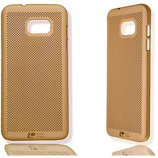 Samsung Galaxy J7 prime loopee Golden back cover