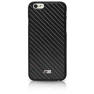 BMW M Collection Hard Case Real Carbon Inspiration for iPhone 6 Plus/6s Plus - Black