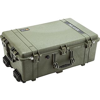 Pelican Large OD Green Case 1650 with 1650-020-130
