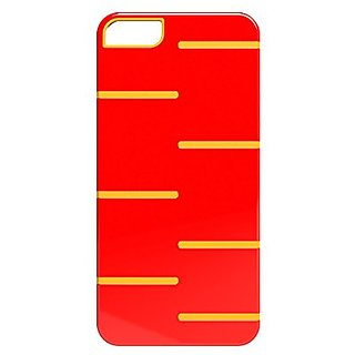 iHome Sliced-Double Injected Case for iPhone 4/4s - Retail Packaging - Red