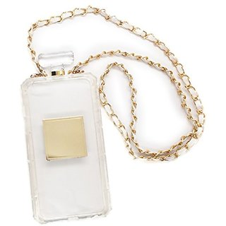 Perfume Iphone 6 Plus Case with Chain (Clear)