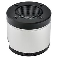 Gear Head Portable Bluetooth Speaker For IPad/iPhone/iPod, Silver/Black (BT3000SLV)