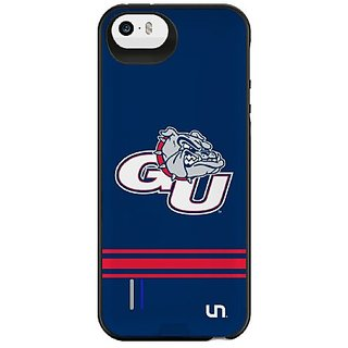 Uncommon LLC Gonzaga University Sport Stripe Power Gallery Battery Charging Case for iPhone 5/5S - Other Chargers - Reta