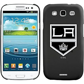 Coveroo Thinshield Case for Samsung Galaxy S3 - Retail Packaging - Black/Los Angeles Kings Primary Logo