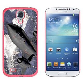 Graphics and More Blackbird Spy Plane Aircraft Snap-On Hard Protective Case for Samsung Galaxy S4 - Non-Retail Packaging