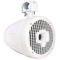 "Power Sports SPORT8-W, 8"" High Performance, 600 Watt Marine Wakeboard Tower Speakers, White"