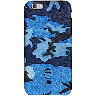ullu Case for iPhone 6 - Retail Packaging - Navy Blue/Blue/Blue