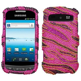 Asmyna SAMR720HPCDM174NP Dazzling Diamante Bling Case for Samsung Admire/Vitality R720 - 1 Pack - Retail Packaging - Roc
