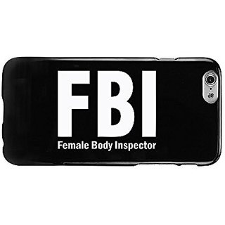 Cellet FBI (Female Body Inspector) Black Proguard Case for iPhone 6