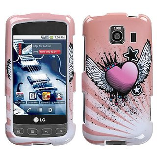 MYBAT LGLS670HPCIM679NP Slim and Stylish Protective Case for LG Optimus S/Optimus U/Optimus V - 1 Pack - Retail Packagin
