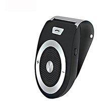 Wireless Bluetooth 4.1 Car Visor Speaker Phone Handsfree Kit For Any Smart Phones With Bluetooth - Black