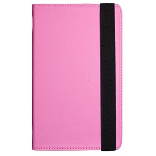 Visual Land Prestige 10-Inch Pro Folio Case, Pink (ME-TC-010-PNK)