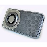 SHABA Ultra Compact Bluetooth Speaker With LED Light, TF Card, AUX-IN, FM Radio And Recoder, Build In Microphone For Han