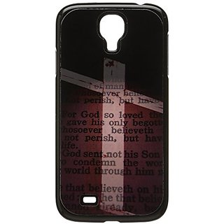 Graphics and More Cross and Bible Verse John 3-16 for God So Loved the World Snap-On Hard Protective Case for Samsung Ga
