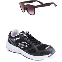 Lotto Black And White Sport Running Shoes F5R2565-3597 - 100738461