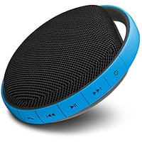 MIIKEY Portable Water-Proof Bluetooth Speaker With Built-In Microphone (Blue)