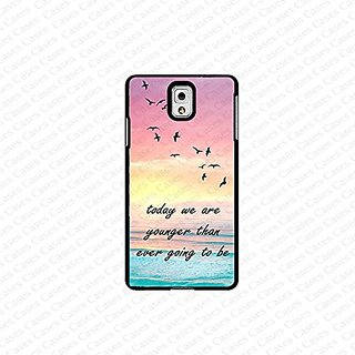 krezy case Galaxy Note 4 case- Encouraging Inspirational quote samsung Galaxy Note 4 case- Cute Note Case, Galaxy Note 4