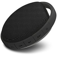 MIIKEY Portable Water-Proof Bluetooth Speaker With Built-In Microphone (Black)