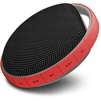 MIIKEY Portable Water-Proof Bluetooth Speaker With Built-In Microphone (Red)