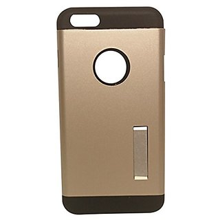 SAIKA iPH6PLUS6S01 iPhone 6 Plus and 6S Plus Case-Extreme Protection Slim Armor Case with Kickstand - Champagne Gold