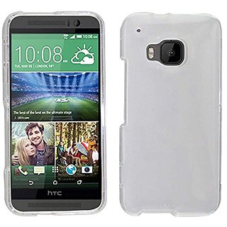 Zizo HTC One M9 Transparent Clear Hard Snap-On Cover - Retail Packaging - Transparent Clear