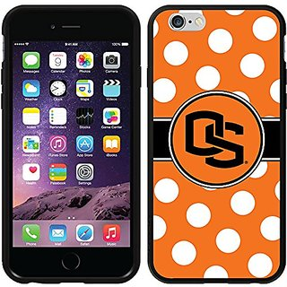 Coveroo Symmetry Series Cell Phone Case for iPhone 6 - Retail Packaging - Oregon Polka Dots