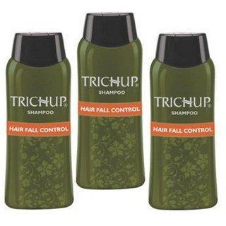 Trichup Hair Fall Control Herbal Hair Shampoo (200 ml x 3)
