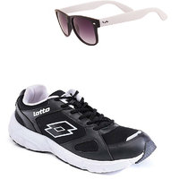 Lotto Black And White Sport Running Shoes F5R2565-3597