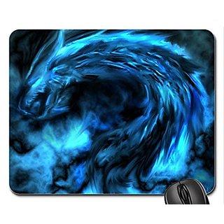 Blue Dragon Mouse Pad, Mousepad