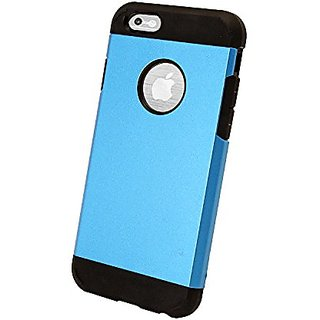 Natico Cell Phone Case for iPhone 6 - Retail Packaging - Blue/Blue