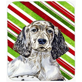 Carolines Treasures English Setter Candy Cane Holiday Christmas Mouse Pad/Hot Pad/Trivet (LH9232MP)