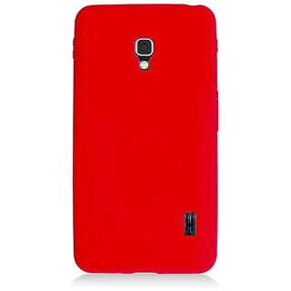 Eagle Cell Skin Case for LG Optimus F6 - Retail Packaging - Red