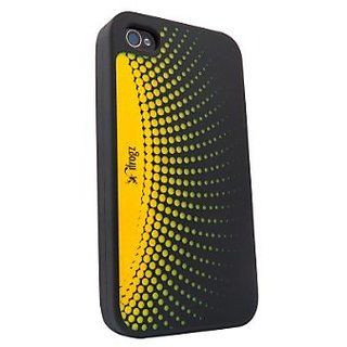 iFrogz 200034 Orbit Burst Case for iPhone 4/4S - Retail Packaging - Yellow