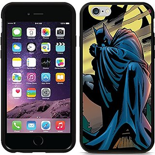 Coveroo Switchback Black Cell Phone Case for iPhone 6 - Retail Packaging - Batman Bat Signal