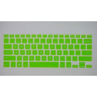HYAIT 1Pcs Colorful Silicone Keyboard Protector Skin Cover for Dell Inspiron 14 3446/3447,14C/14(3000/5000 Series),14MR/