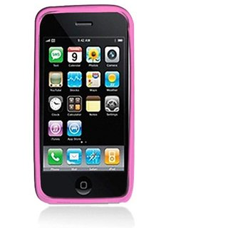 Aimo Wireless IPHONE3GSSKC232 Soft and Slim Fabulous Protective Skin for iPhone 3G/3GS - Retail Packaging - Pink Plaid