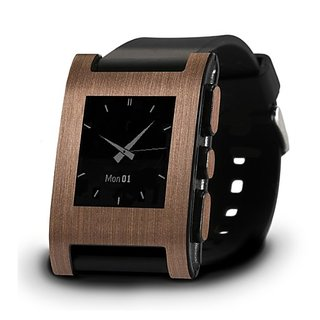 Brushed Copper Wrap for Pebble Watch - Retail Packaging - Brushed Copper